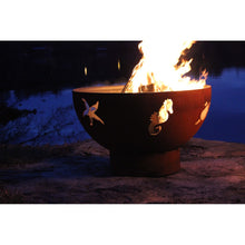 "FIRE PIT ART SEA CREATURES 36"" Fire Pit - Fireplace Features"