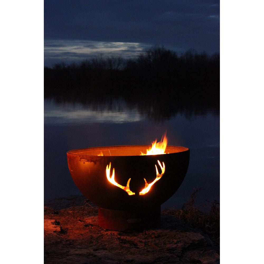 FIRE PIT ART ANTLERS 36