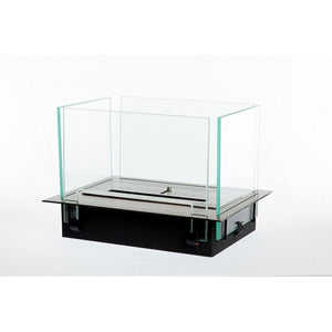 BIO-BLAZE INSERT TABLE Black Tabletop Ethanol Fireplace - Bio-Blaze - BB-IT-B - Fireplace Features