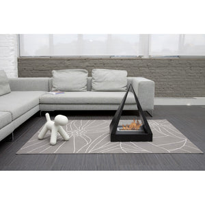 "BIO-BLAZE KEOPS 19½"" Pyramid Freestanding Bio-Ethanol Fireplace - BB-KE - Fireplace Features"