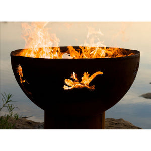 "FIRE PIT ART KOKOPELLI 36"" Fire Pit - Fireplace Features"