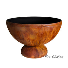 "OHIO FLAME 30"" Fire Chalice Artisan Fire Bowl - Fireplace Features"