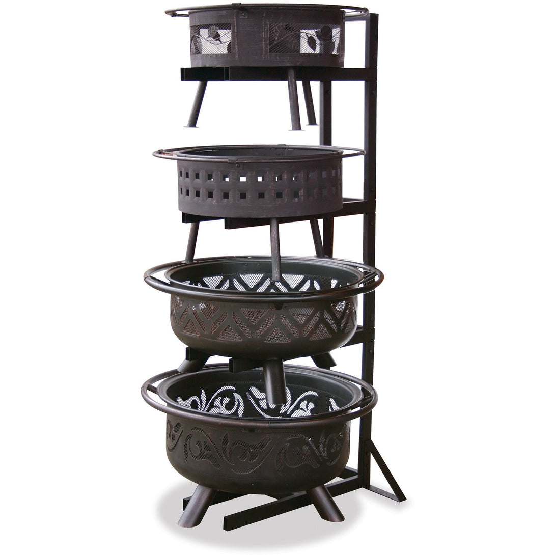 Outdoor Firebowl Display Stand OFP-DPY Mr BBQ - Fireplace Features