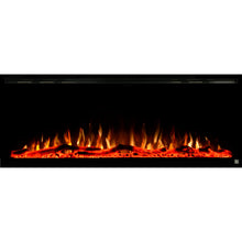 "TOUCHSTONE SIDELINE ELITE 50"" Black Wallmount Fireplace"
