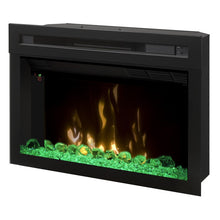 "Dimplex 25"" Multi-Fire XD Firebox With Logs - Fireplace Features"