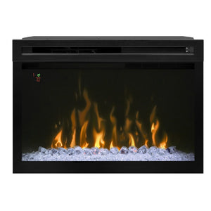 "Dimplex 33"" Multi-Fire XD Firebox With Glass - Fireplace Features"