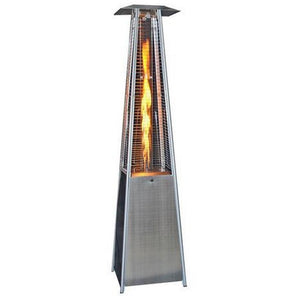 Square Design Patio Heater -Stainless Steel SUNHEAT PHSQSS - Fireplace Features