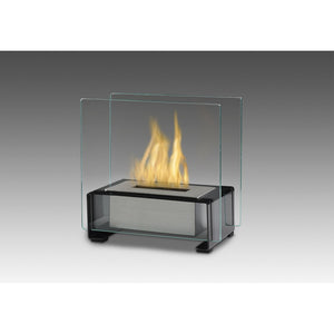 "ECO-FEU PARIS 8"" Portable Tabletop Ethanol Fireplace UL Listed - Fireplace Features"