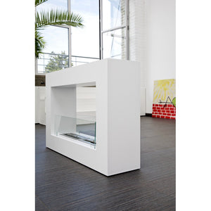 Qube Large Freestanding Ethanol Fireplace - BB-QL- Bio-Blaze - Fireplace Features