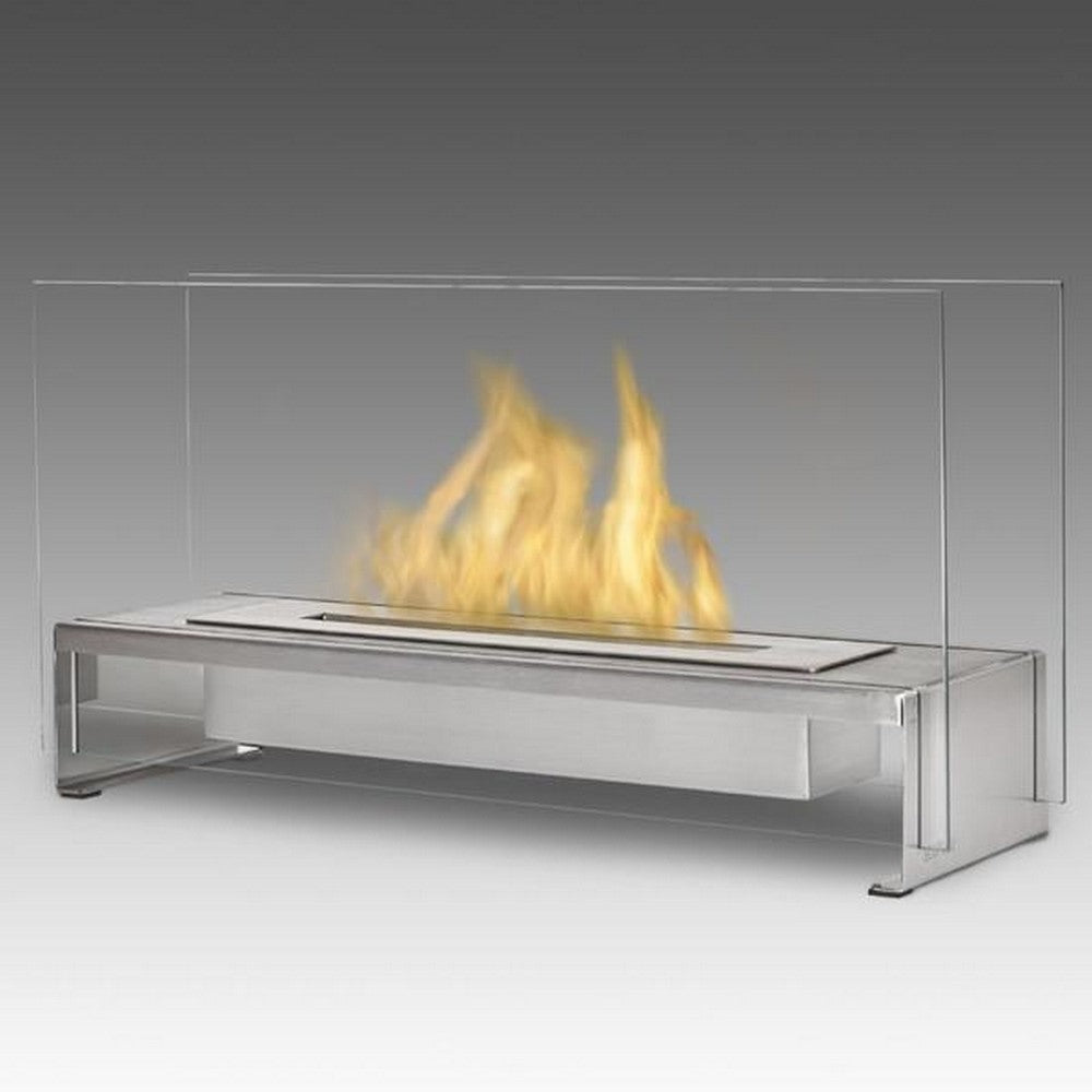 """ECO-FEU RIO 23.5"""" Tabletop UL Listed Portable Bio-Ethanol Fireplace - Fireplace Features"""