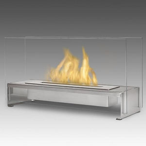 "ECO-FEU RIO 23.5"" Tabletop UL Listed Portable Bio-Ethanol Fireplace - Fireplace Features"
