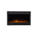"TOUCHSTONE SIDELINE 36"" Black Wallmount Fireplace"