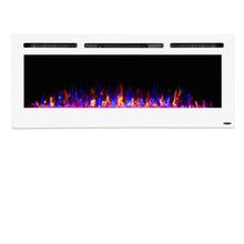 "TOUCHSTONE SIDELINE 50"" White Wallmount Fireplace"