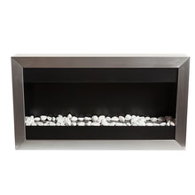 "BIO-BLAZE SQUARE LARGE I 39"" Wall Mounted Multi-Burner Bio-Ethanol Fireplace - Fireplace Features"