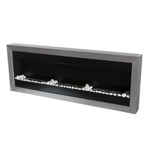 "BIO-BLAZE SQUARE XL II 59"" Wall Mounted Three Burner Ethanol Fireplace - BB-SQXL2 - Fireplace Features"