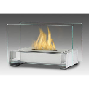 "ECO-FEU TOULOUSE 15 3/4"" Portable Tabletop Bio-Ethanol Fireplace - Fireplace Features"