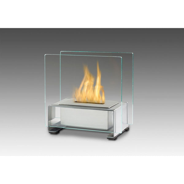 Paris Tabletop Ethanol Fireplace - Stainless Steel ECO-FEU TT-00136-SS - Fireplace Features