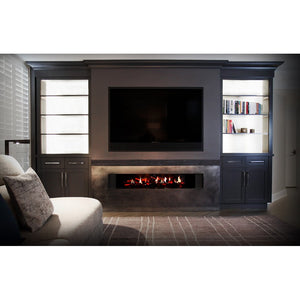 Dimplex Electric Fireplace, Opti-V® Double, No Heat - Fireplace Features