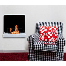 "BIO-BLAZE VELONA 21½"" Wall Mounted Ethanol Fireplace - Fireplace Features"