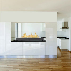 "ECO-FEU VISION III 51"" (Large) Freestanding Bio-Ethanol Fireplace UL Listed - Fireplace Features"