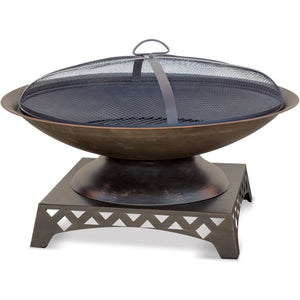 Oil Rubbed Bronze Wood Outdoor Firebowl WAD1410SP Mr BBQ - Fireplace Features