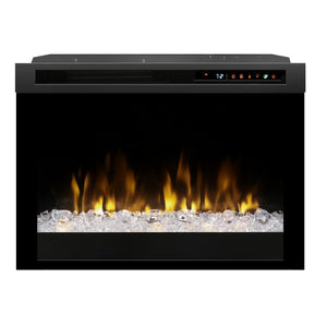 "Dimplex 26"" Multi-Fire XHD Firebox With Acrylic Ember Media Bed - Fireplace Features"