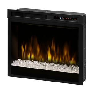"Dimplex 28"" Multi-Fire XHD Firebox With Acrylic Ember Media Bed - Fireplace Features"