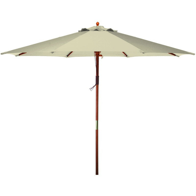 9' Market Umbrella - Natural - Bond Mfg - Y99151 - Fireplace Features