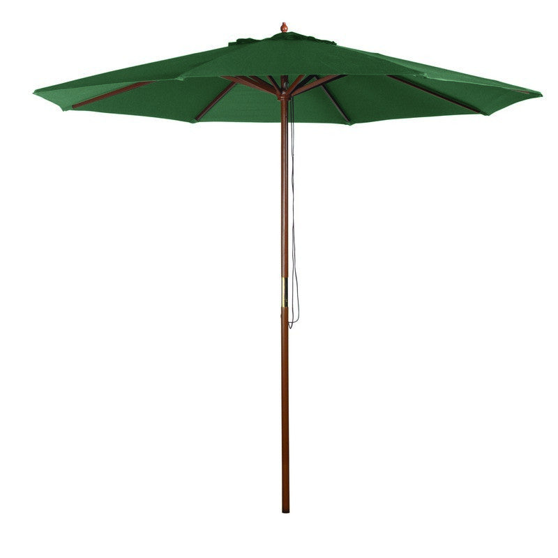 9' Market Umbrella - Green   - Bond Mfg - Y99153 - Fireplace Features