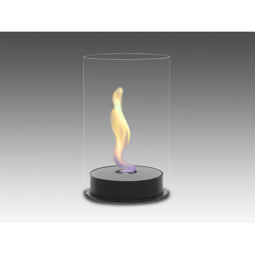 Romeo Tabletop Bio-Ethanol Fireplace - Gloss Black ECO-FEU TT-00103-GB - Fireplace Features