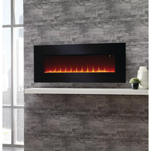 "SUNHEAT 42"" Wall Mount Fireplace with optional table stand - SHWMFP42"