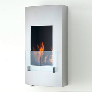 Hollywood Wallmount Bio-Ethanol Fireplace - ECO-FEU WU-Series - Fireplace Features