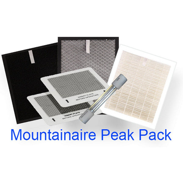 Complete Set of Replacement Filters SUNHEAT PEAK PACK - Fireplace Features