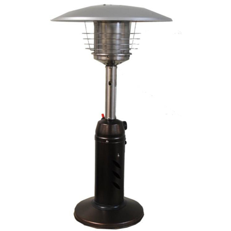Round Design Tabletop Patio Heater  Golden Hammered SUNHEAT PHRDGH-TT - Fireplace Features