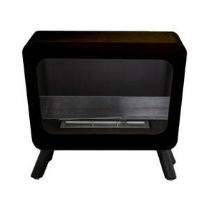 "BIO-BLAZE RETRO 26.8"" Freestanding Ethanol Fireplace - Fireplace Features"