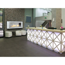 "ECO-FEU SANTA CRUZ 63"" Wall Mount or Built-in Bio-Ethanol Fireplace UL Listed - Fireplace Features"