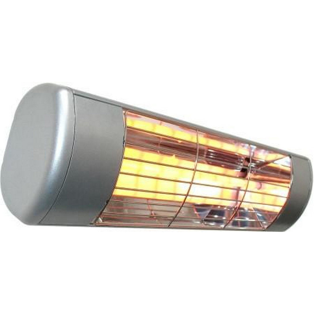 Outdoor Electric Wall Mounted Heater-Silver SUNHEAT WL-15S - Fireplace Features