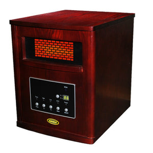 Thermal Wave Infrared Heater - Cherry SUNHEAT TW1460 - Fireplace Features
