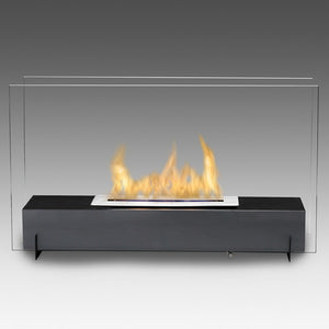 "ECO-FEU VISION I 28 3/4"" (Small) Freestanding Portable Tabletop Bio-Ethanol Fireplace - Fireplace Features"