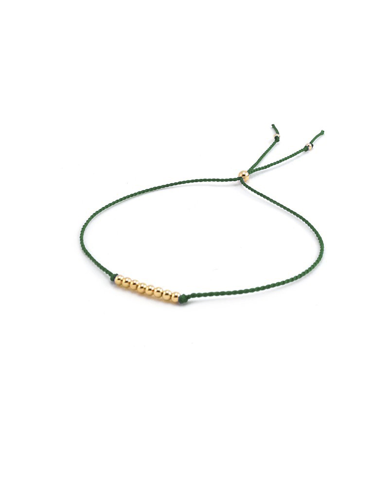Friendship Bracelet <br> Gold Filled