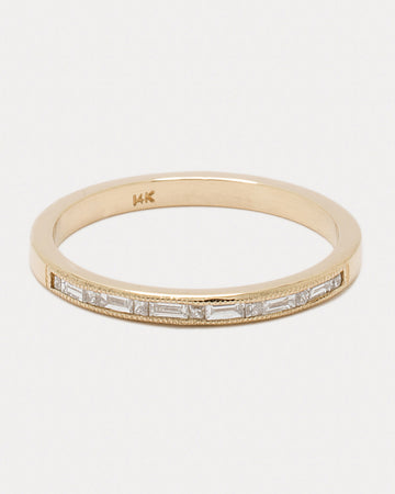 <b>Brilliant Path Band</b> <br> Diamonds & Gold