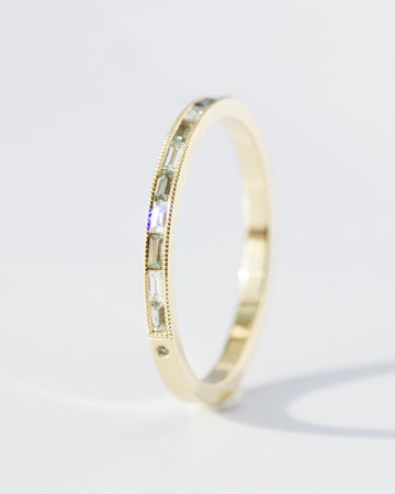 Big Sky River of Light Band in Gold • LIMITED EDITION • LAST ONE