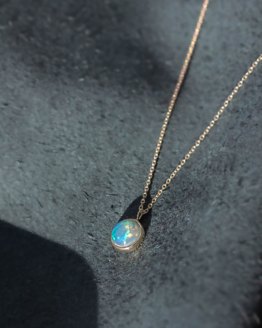 La Terra Necklace <br> Opal & Gold