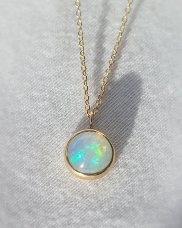 Opal La Terra Necklace in Gold