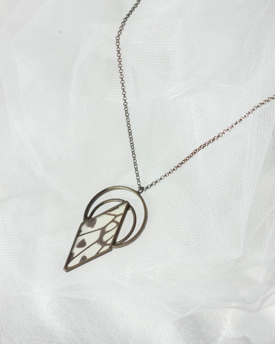 Double Venus Necklace <br> Paper Kite Butterfly