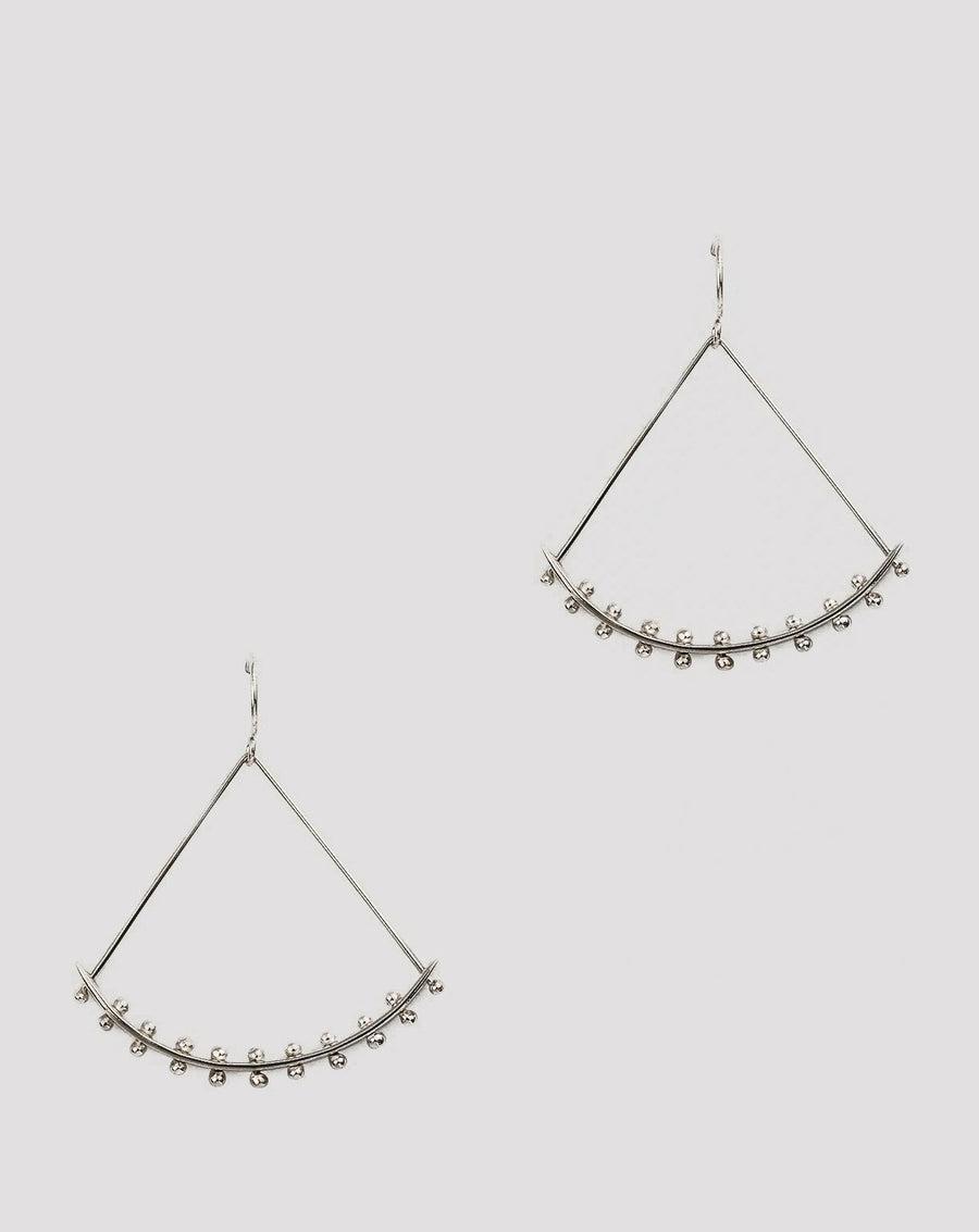 Raya Earrings <br> Silver