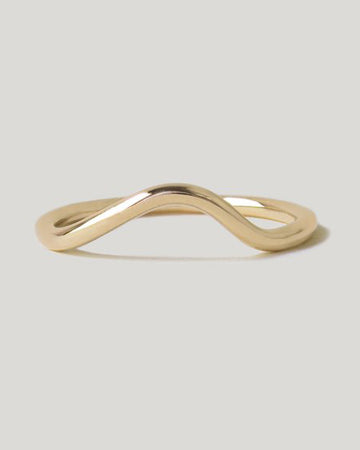 Masumi Contour Band <br> Gold