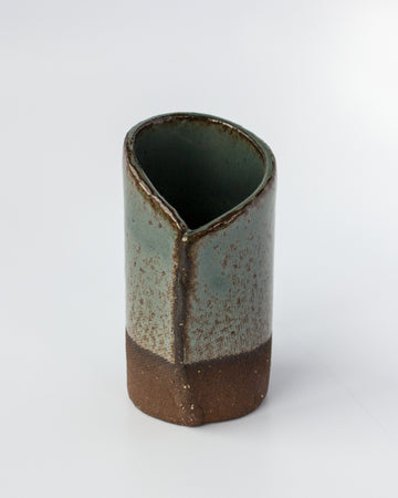<b>Mini Slab Vase </b><br> Green