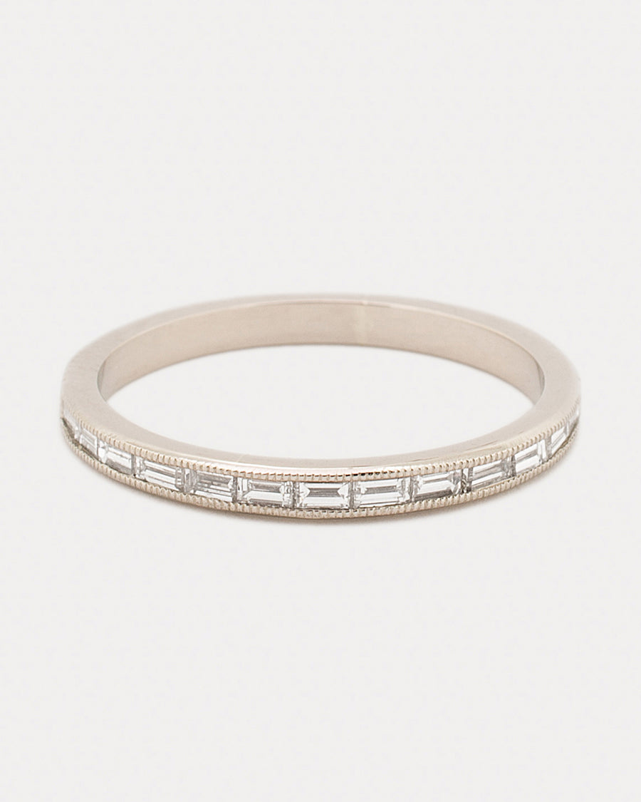 Eternal River of Light Band <br> Diamonds & Gold
