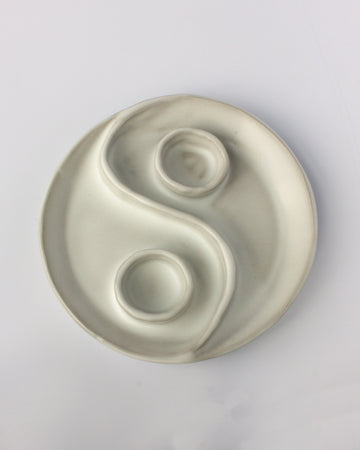 Sectional Plate <br> Yin Yang